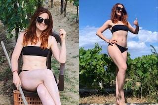 Noemi dimagrita 15 chili con il Metodo Tabata: la trasformazione grazie all'allenamento bruciagrassi