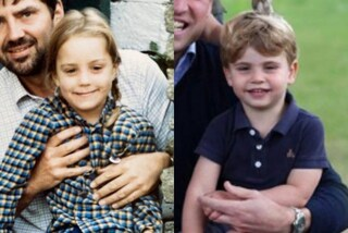 Somiglianze reali: Louis è la fotocopia di Kate Middleton da piccola, Charlotte è uguale a Diana