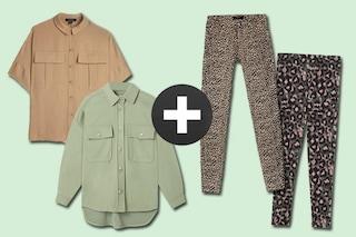 I leggings si indossano con la camicia: come essere comode con gli abbinamenti di tendenza
