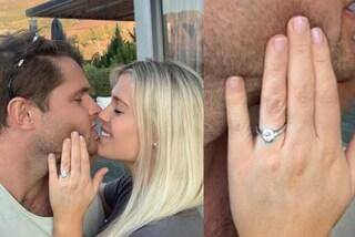 Amelia Spencer si è fidanzata: l'anello di diamanti della nipote di Lady Diana è da capogiro