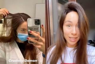 Aurora Ramazzotti mostra i capelli bianchi e cambia look: ora ha le sfumature color caramello
