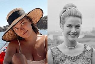 Camille Gottlieb, estate tra bikini trendy e cappelli di paglia: è la sosia della nonna Grace Kelly