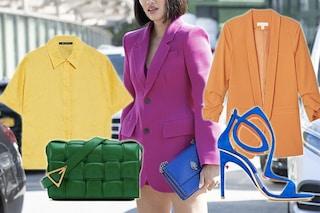 Color block, la tendenza moda dell'estate 2020: sbizzarritevi con accostamenti di colori inconsueti