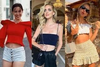 Crop top per l'estate: mettere la pancia in mostra è il trend più amato dalle star