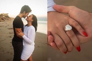 Demi Lovato mostra l'anello di fidanzamento: l'enorme diamante costerebbe più di 900mila euro