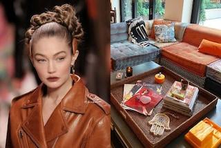 Gigi Hadid mostra la nuova casa pop: farà crescere la figlia tra divani griffati e opere d'arte