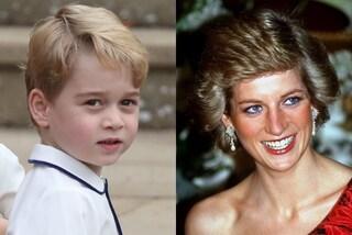Il principe George ama i regali rumorosi: l'insolita passione che lo lega a Lady Diana