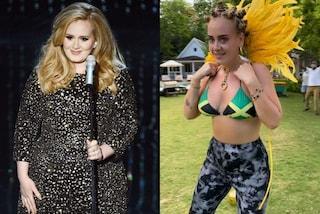 Adele per la prima volta in bikini dopo la dieta: così mostra l'incredibile perdita di peso