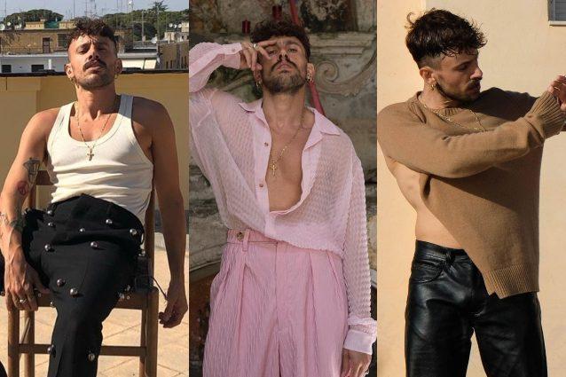 Aiello Il Cantautore Dallo Stile Eclettico Sfida Gli Stereotipi Tra Completi Rosa E Zeppe