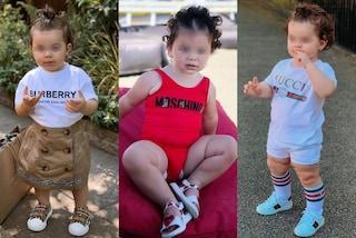 Azalea, la bimba che a 17 mesi è già fashion influencer: i look griffati valgono quasi 6mila euro