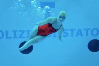 """Bebe Vio nuota in piscina: """" Mi sento la sirenetta, a lei però sono cresciute le gambe"""""""
