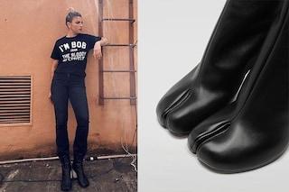 Emma Marrone: il look total dark con gli stivaletti dal significato nascosto