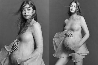 """Gigi Hadid e i retroscena delle foto della gravidanza: """"È stato più stancante di un lavoro normale"""""""