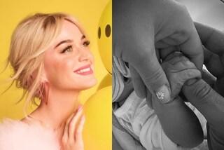 Katy Perry è diventata mamma: la prima foto con Daisy è con la manicure ispirata al suo nome