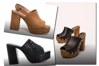 Mules col plateau, le scarpe che sembrano zoccoli sono il must-have dell'estate 2020