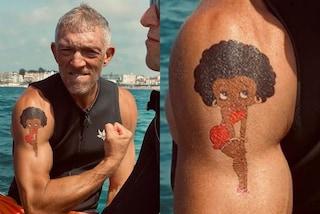 Vincent Cassel ha un nuovo tatuaggio: è una dedica d'amore per Tina Kunakey