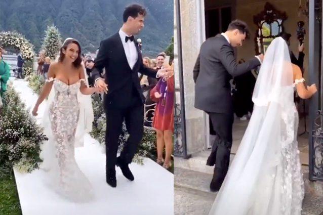 Elettra Lamborghini e il suo Afrojack sono diventati marito e moglie!
