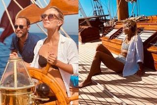 James Middleton e Alizee festeggiano l'anniversario della proposta con le camicie di lino coordinate