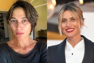 """Anna Foglietta senza trucco e con i capelli scuri: il nuovo look """"al naturale"""" dell'attrice"""
