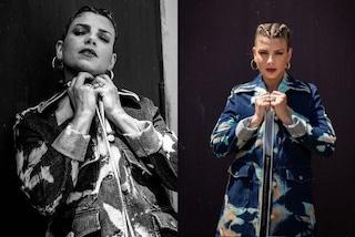Emma Marrone a X-Factor 2020 col completo tye dye: per la seconda puntata sfoggia le trecce