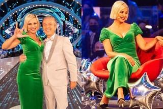 GF Vip 2020, Matilde Brandi con le paillettes, la Elia in verde: tutti i look della prima puntata