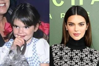 Kendall Jenner da piccola con la frangetta storta: così ricorda il suo più brutto taglio di capelli