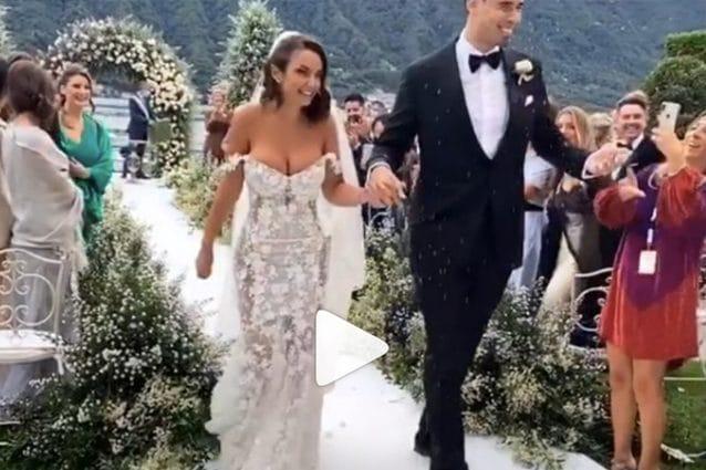 Elettra Lamborghini matrimonio: ecco le prime foto della cerimonia con Afrojack
