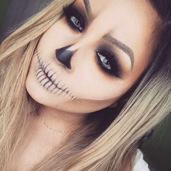 Make up scheletro
