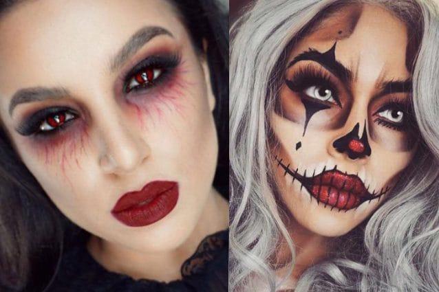 Trucco Halloween 2020: tante idee per il make up più spaventoso dell'anno