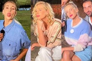 Alessia Marcuzzi a Temptation Island, dal denim al maglione di pelo: tre cambi look per la puntata 4