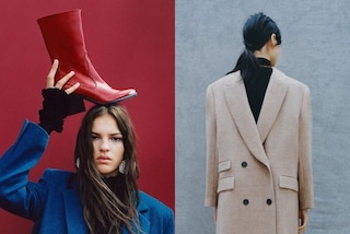 Cappotti al contrario e stivali in testa: le pose assurde delle modelle di Zara finiscono sui social