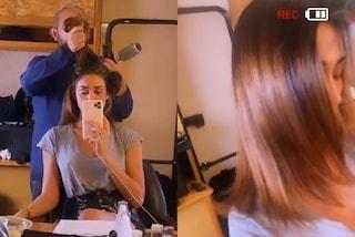 Belén Rodriguez cambia look: ora ha un nuovo taglio e delle sfumature color nocciola