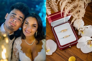 Elettra Lamborghini mostra le fedi: per il matrimonio ha scelto anelli griffati da oltre mille euro