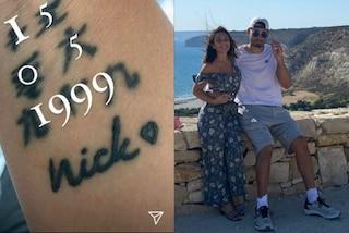 Elettra Lamborghini, in luna di miele con il look da 2mila euro (e il tatuaggio dedicato al marito)