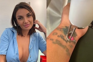 Elettra Lamborghini dice addio a due tatuaggi: li sta rimuovendo con il laser