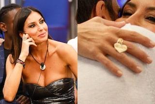 Elisabetta Gregoraci, l'anello con il cuore pendente nasconde una dolce dedica per il figlio Nathan