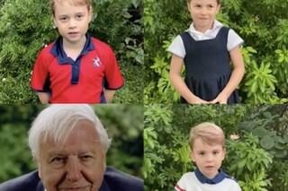 George, Charlotte e Louis per la prima volta in un video Instagram: le loro domande allo scienziato