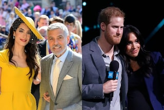 George e Amal Clooney non conoscevano Harry e Meghan al Royal Wedding: l'amicizia è nata post nozze