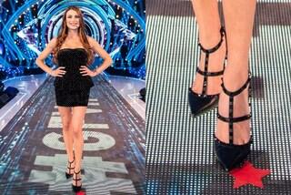 GF Vip 2020, Franceska Pepe ama le scarpe di lusso: in studio indossa il modello firmato da 800 euro