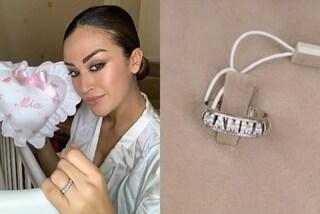 """Giorgia Palmas dolce mamma: celebra la sua """"nuova vita"""" con l'anello a tema"""
