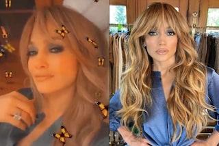 Jennifer Lopez cambia (ancora) look: la sua frangia è da avere nell'autunno 2020