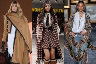 La mantella è il must-have dell'autunno 2020: i modelli da scegliere e i consigli per abbinarla