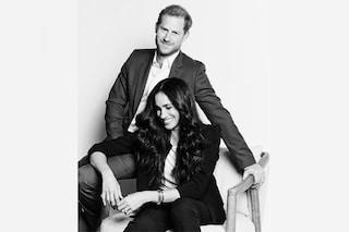 Meghan Markle, look da oltre 320mila euro: nella nuova foto con Harry indossa l'orologio di Lady D.
