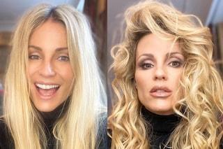 Michelle Hunziker prima e dopo il parrucchiere: la trasformazione della presentatrice