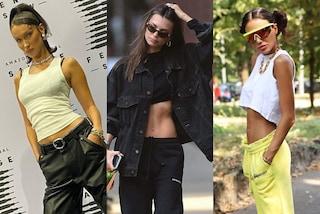 Pantaloni a vita bassa, il ritorno del trend anni 2000: a chi stanno bene e i consigli per abbinarli