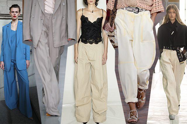 da sinistra Max Mara, Sportmax, Dsquared2, Alberta Ferretti, Louis Vuitton