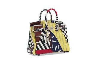 Birkin bag all'asta: la borsa di Hermès disegnata da Nigel Peake vale oltre 50mila euro