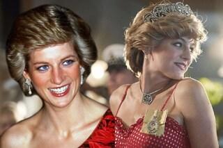 """Il ritorno di Lady Diana con """"The Crown"""": rivive sullo schermo lo stile indimenticabile della principessa triste"""
