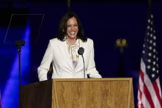 """Kamala Harris, prima vicepresidente donna: """"Anche se sono la prima, non sarò di certo l'ultima"""""""