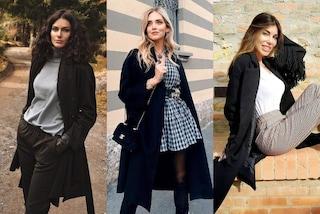 Cappotto nero, il capo must-have del guardaroba femminile: i modelli più trendy per l'inverno 2020